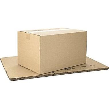 Boîtes en carton ondulé ICONEX/NCR kraft brun, 18 x 12 x 10 po, paq./10 (69820)