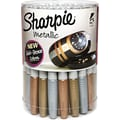 Sharpie® Metallic Fine Point Permanent Markers, Assorted, 36/Pack