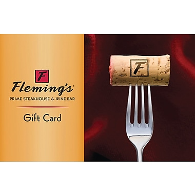 Flemings Gift Card, $100