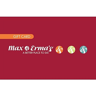 Max and Erma's Gift Cards