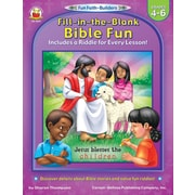 Carson-Dellosa Fill-In-The-Blank Bible Fun Resource Book