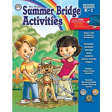 Summer Bridge Activities™ Workbook, Character Development, Grades K - 1