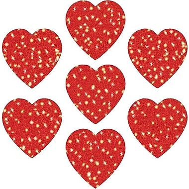 Carson-Dellosa Hearts, Red Dazzle™ Stickers