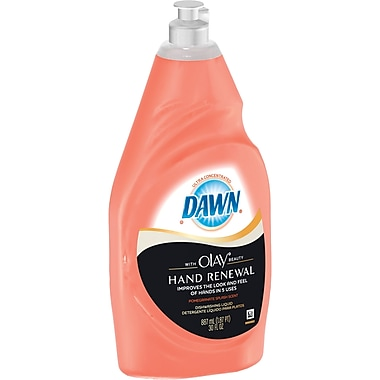 Dawn Ultra Hand Renewal Dishwashing Liquid With Olay Beauty, 30 oz. Bottle