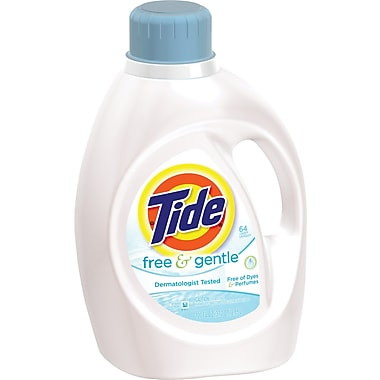 Tide Free & Gentle 2x Concentrated Laundry Detergent, 100 fl. oz