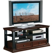 OSP Designs™ 52 Cappelle TV Stand, Roasted Chestnut