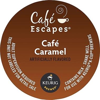 Keurig K-Cup Cafe Escapes Cafe Caramel, 16/Pack