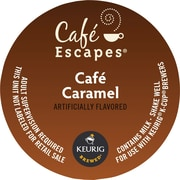Keurig® K-Cup® Cafe Escapes™ Cafe Caramel, 16/Pack