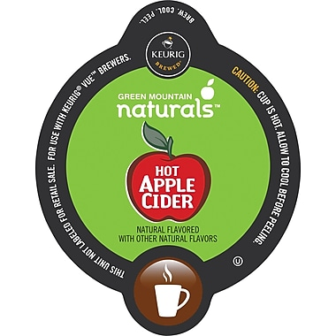 Keurig® Vue® Pack Green Mountain® Hot Apple Cider, Regular, 16/Pack