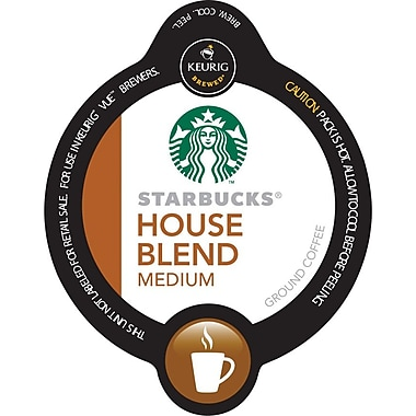 Keurig® Vue® Pack Starbucks® House Blend Coffee, Regular, 16/Pack