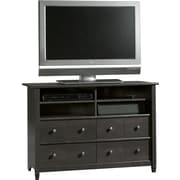 Sauder® Edge Water Highboy TV Stand, Estate Black
