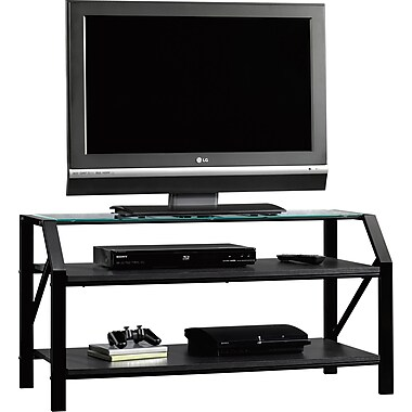 Sauder® Beginnings Panel TV Stand, Black