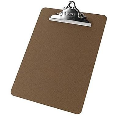 Staples® Hardboard Clipboard, Letter, 9