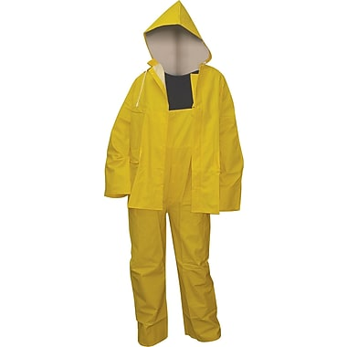 45mil PVC Heavy-Duty Rain Suit, 12/Case
