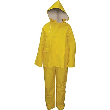 35mil PVC Rainsuit, Extra Large - 12/case