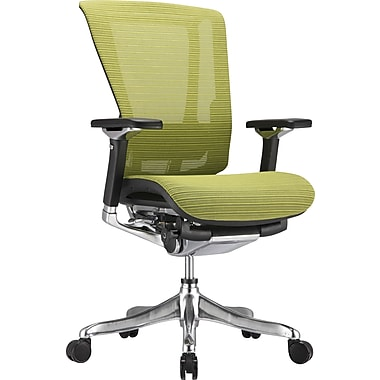 Raynor nefil Pro Smart Motion Mesh Managers Chair, 3D Green