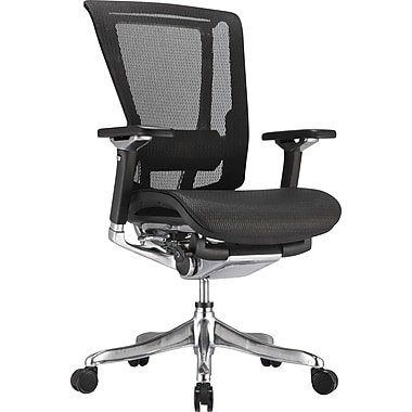nefil Pro Smart Motion Mid-Back Mesh Manager's Chair, Black