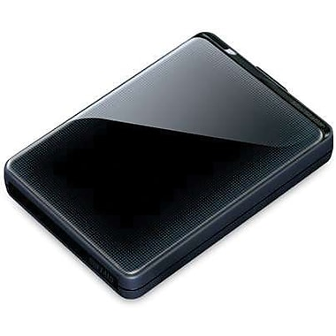 Buffalo MiniStation Plus 1TB Portable USB 3.0 External Hard Drive (Black)