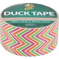 Duck Tape Brand Duct Tape, Zig Zag, 1.88in.x 10 Yards