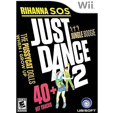 Ubisoft® Just Dance 2, Music, Dance & Party, Wii™
