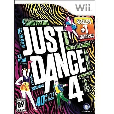 Ubisoft® Just Dance 4, Music, Dance & Party, Wii™