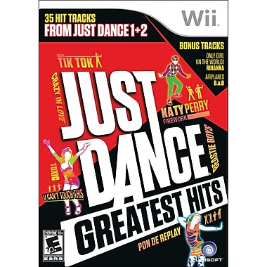 Ubisoft®  Just Dance Greatest Hits, Music, Dance & Party, Wii™