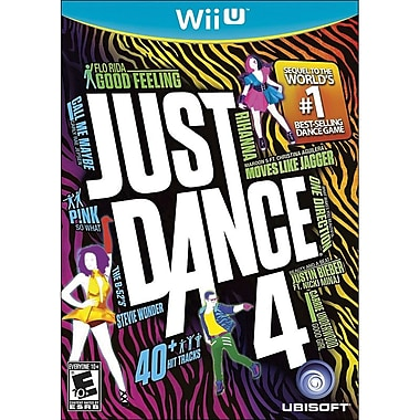 Ubisoft® Just Dance 4, Music, Dance & Party, Wii™ U