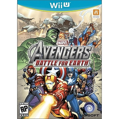 Ubisoft® Marvel Avengers Battle For Earth, Fighting, Wii™ U