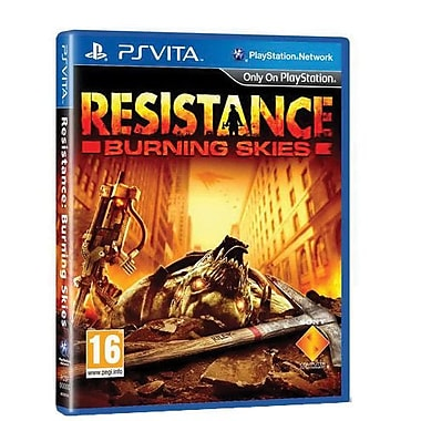 Sony® Resistance Burning Skies, Shooters, Playstation® vita