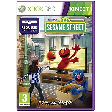 Microsoft® Kinect Sesame Street TV, Action & Adventure, Xbox 360®