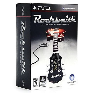 Ubisoft® Rocksmith Guitar Bundle, Music, Dance & Party, Playstation® 3