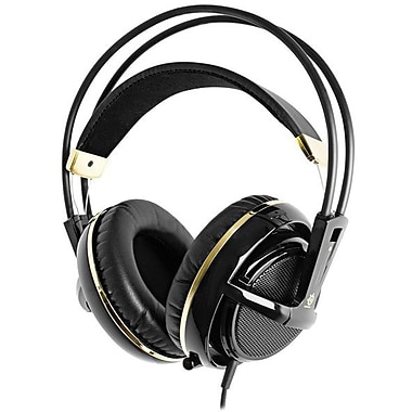SteelSeries Siberia v2 Gaming Headset - Black & Gold