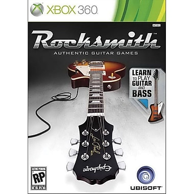 Ubisoft® Rocksmith Guitar And Bass, Dance And Music, Xbox 360®