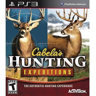Activision® Cabela's Hunting Expeditions, Action & Adventure, Playstation® 3