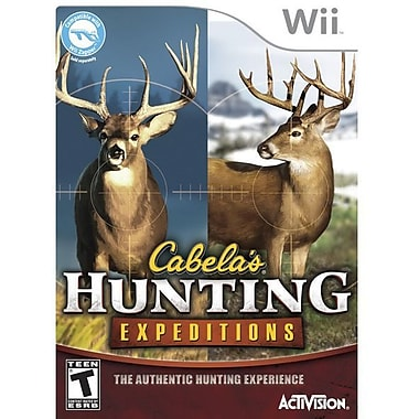 Activision® Cabela's Hunting Expeditions, Action & Adventure, Wii™