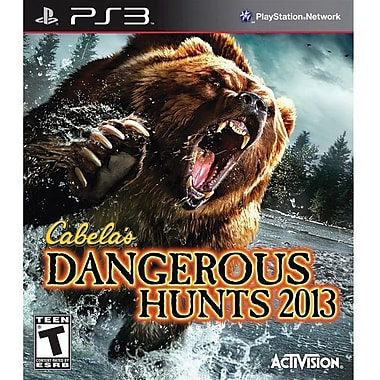 Activision® Cabela's Dangerous Hunts 2013, Action & Adventure, Playstation® 3
