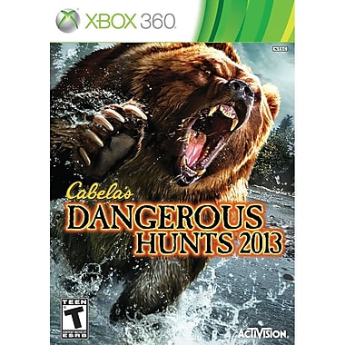 Activision® Cabela's Dangerous Hunts 2013, Action & Adventure, Xbox 360®