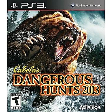 Activision® Cabela's Dangerous Hunts 2013 w/ Gun, Action & Adventure, Playstation® 3