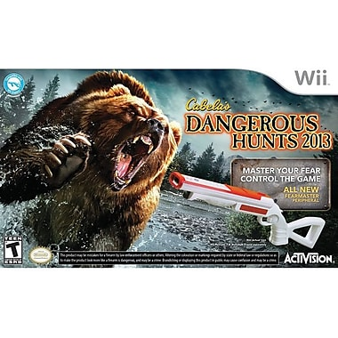Activision® Cabela's Dangerous Hunts 2013 w/ Gun, Action & Adventure, Wii™
