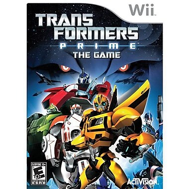 Activision® Transformers Prime, Action & Adventure, Wii™