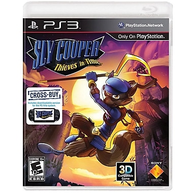 Sony® Sly Cooper Thieves In Time, Action & Adventure, Playstation® 3