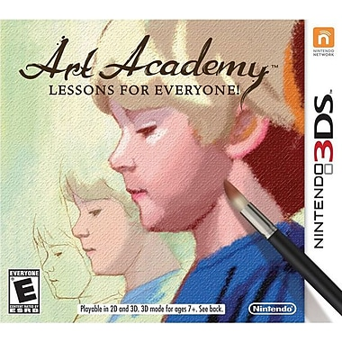 Nintendo® Art Academy Lessons For Everyone, Strategy & Simulation, 3DS™