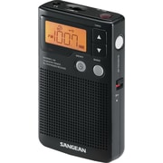 Sangean® Black Pocket Radio w/ Built-In Speaker, FM-Stereo/AM
