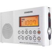 Sangean® White Special Application Radio w/ FM/AM PLL Digital Tuning