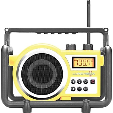 Sangean® Utility/Worksite Radio w/ Compact FM/AM Ultra Rugged