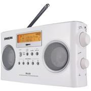 Sangean® PRD5 Black, White Portable Radio w/ FM-Stereo RDS (RBDS)/AM Digital Tuning