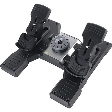 Mad Catz® Saitek® Pro Flight Rudder Pedal w/ Toe Brake