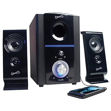 Supersonic® SC-1120 Multimedia Speaker System, 16 W