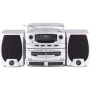 Supersonic® SC2020U Portable Mp3/CD Player w/ Cassette Recorder & AM/FM radio, USB Input