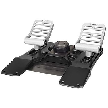 Mad Catz® Saitek® Pro Flight Combat Rudder Pedal w/ Adjustable Pedal Angle